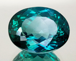9.46Crt Green Topaz Natural Gemstones JI20