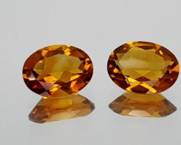 1.96Crt Madeira Citrine Natural Gemstones JI20