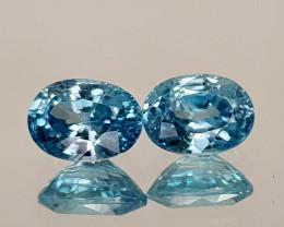 2.69Crt Blue Zircon Natural Gemstones JI20