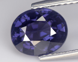 Spinel 1.89 Cts Blue Step cut BGC1068
