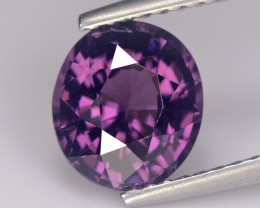 Spinel 2.07 Cts Purple Pink Step cut BGC1064