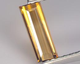 Tourmaline 0.75 Cts Bellini Yellow Step cut BGC1003
