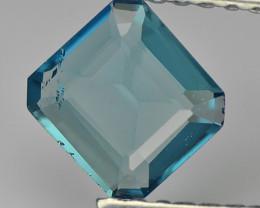 Tourmaline 0.54 Cts Indigolite blue Portuguese Cut BGC855