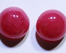 12.41 carats Australian Rhodonite Cut Stones ANGC-849