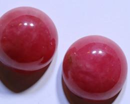 12.39 carats Australian Rhodonite Cut Stones ANGC-851