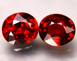 Spessartite Garnet 3.57Ct 2Pcs Natural Spessartite Garnet DF1318/B34
