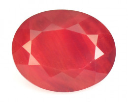 2.08 Cts Amazing Rare Natural Red Andesine Loose Gemstone