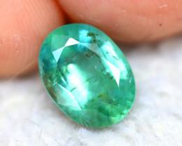 Emerald 1.66Ct Natural Zambia Green Emerald E1206/A37