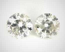 2/0.70 CT , Natural White Diamonds , Diamonds For Jewelry