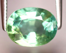 Apatite 2.25Ct Natural Paraiba Green Color Apatite EF1216/B44