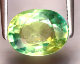 Apatite 2.20Ct Natural Paraiba Green Color Apatite EF1217/B44