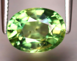 Apatite 2.38Ct Natural Green Color Apatite EF1220/B44