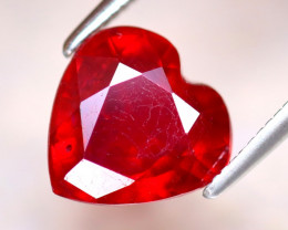 Ruby 3.55Ct Heart Shape Madagascar Blood Red Ruby EF1222/A20