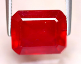 Ruby 6.65Ct Madagascar Blood Red Ruby EF1225/A20
