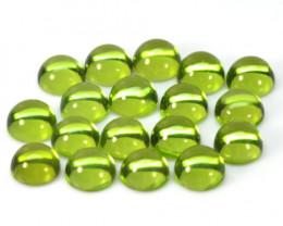 11.98 Cts 18 Pcs Green Color Natural Peridot Gemstone