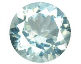 1.08 Cts Un Heated Blue Natural Aquamarine Loose Gemstone