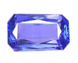 0.87 Cts Amazing rare AAA Violet Blue Color Natural Tanzanite Gemstone