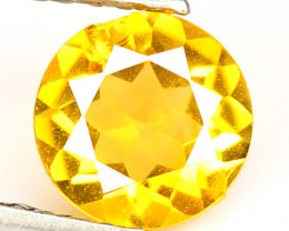 0.66 Cts Fancy Golden Yellow Color Natural Citrine Gemstone