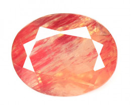 0.74  Cts Amazing Rare Natural Red Andesine Loose Gemstone