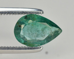 0.90 Ct Natural Zambia Emerald Gemstone