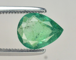 0.95  Ct Natural Zambia Emerald Gemstone
