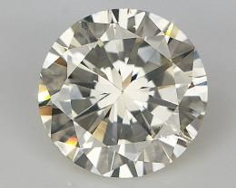 0.67 CT , Light Color Diamond , Loose Natural Diamond