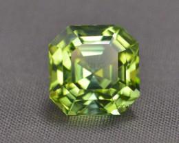 3.65 Carat Natural Afghanistan Green Tourmaline