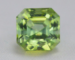 2.70 Carat Natural Afghanistan Green Tourmaline