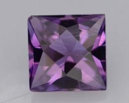 1.90 CT Natural Gorgeous Color Fancy Cut Amethyst ~ T