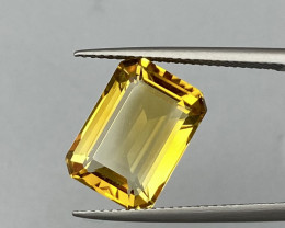 Natural Citrine 6.56 Cts Faceted Gemstone