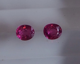 0.62ct unheated clean ruby