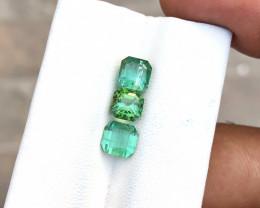 3.60 Ct Natural Green & Blue Transparent Tourmaline Gemstones Parcels