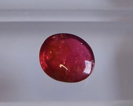 2.20ct red spinel cabochon