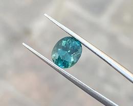 1.50 Ct Natural Blueish Transparent Ring size Tourmaline Gemstone