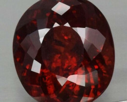 5.66 ct  Natural Earth Mined Fire  Orangish Red Spessartite Garnet, Namibia