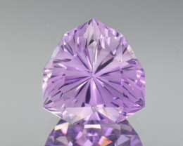 Natural  Amethyst 14.88 Cts Precision Cut Gemstone