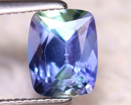 Tanzanite 1.42Ct Natural Purplish Blue Tanzanite E1412/D3