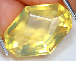Jelly Opal 7.37Ct Master Cut Natural Mexican Jelly Fire Opal AT0075