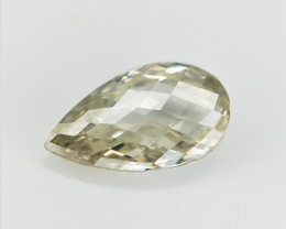 0.36 ct , Sparkling Briolette Diamond , Loose Diamond Bead