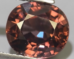 3.20 CTS EXTREME OVAL NATURAL RARE COLOR ZIRCON  EXCELLENT~