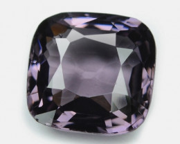 1.18 Cts Un Heated Very Rare Purple Pink Color Natural Spinel Gemstone