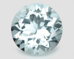 1.09 Cts Un Heated Blue  Natural Aquamarine Loose Gemstone