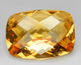 *NoReserve* Mystic Topaz 5.74 Cts Rare Fancy Orange-Yellow Color Natural Ge