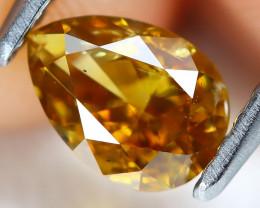 Orange Diamond 0.60Ct Natural Untreated Fancy Diamond AT0126