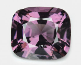 0.92 Cts Un Heated Very Rare Purple Pink Color Natural Spinel Gemstone
