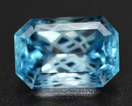 Stunning 7.85 Ct Natural Blue Topaz Gemstone
