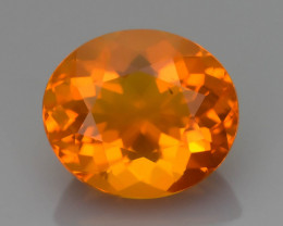 Rare 1.42 ct Mexican Fire Opal SKU.9