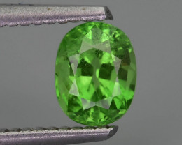 Tsavorite Garnet  1.13 ct Untreated Tanzanian Mined  SKu-9