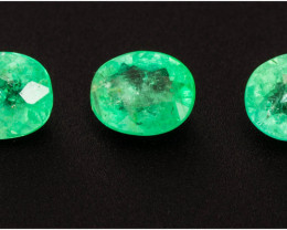 Emerald  1.07 ct Etiophia GPC Lab