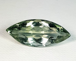 7.55 ct Top Quality Gem Marquise Cut Natural Green Amethyst
